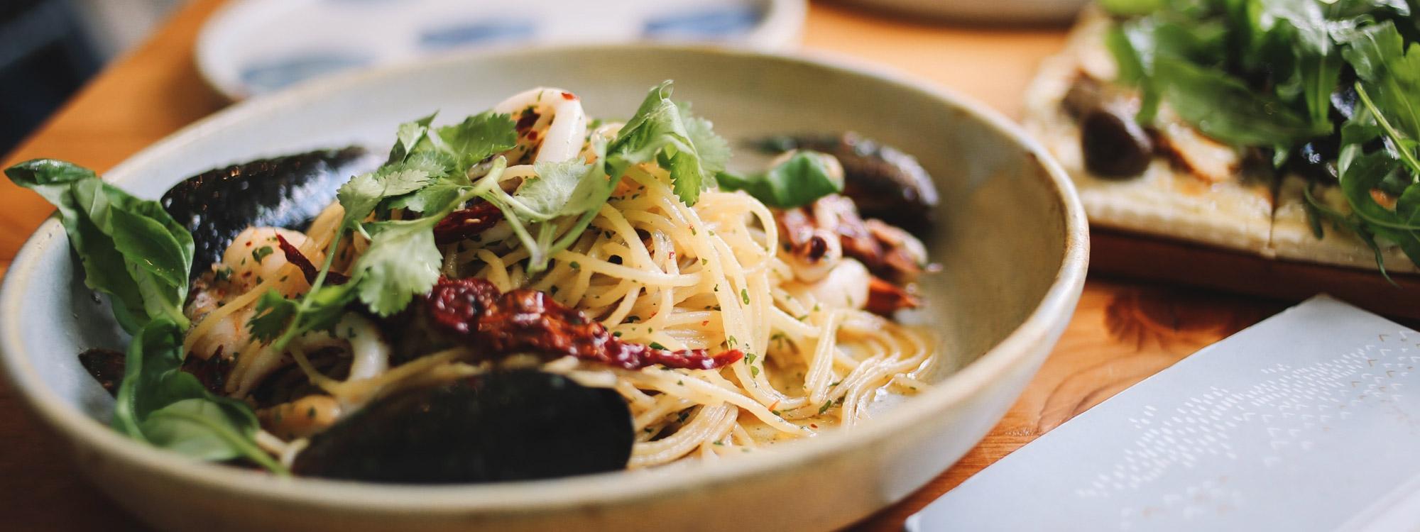rezept des monats: pasta und meeresfrüchte